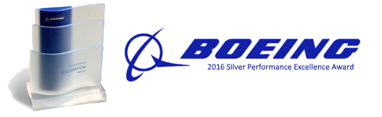 Silver Boeing Performance Excellence Award